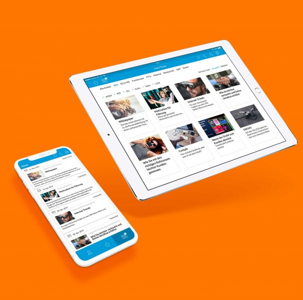 Das Mitarbeitermagazin als digitale Ausgabe - für jedes Endgerät